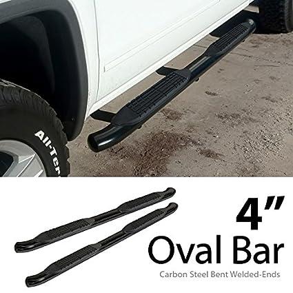 "4/"" Oval Nerf Bar Fit 07-18 Silverado//Sierra Extended Cab Step Running Board"