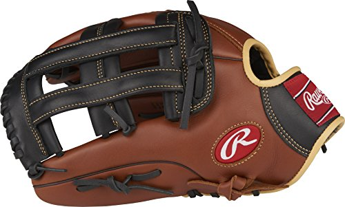 Rawlings Sandlot Series Leather Pro H Web Baseball Glove, 12-3/4