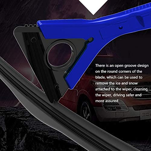 Doneioe Car Windshield Ice Snow Remover Scraper Tool Snow Removal Shovel Defrost Deicing