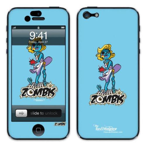 Diabloskinz B0081-0066-0050 Vinyl Skin für Apple iPhone 5/5S Wind