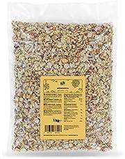 KoRo - Tijgeramandel geschaafd 1 kg - Gemaakt van ongebrande en gepelde amandelen zonder toevoegingen en natuurlijk allergeen- en glutenvrij