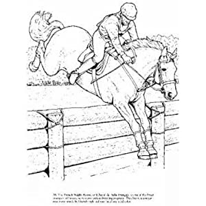 Horses of the World Coloring Book (Dover Nature Coloring Book): John ...