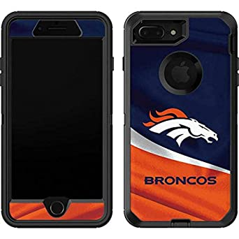 Skinit Denver Broncos OtterBox Defender iPhone 7 Plus Skin for CASE - Officially Licensed NFL Skin for Popular Cases Decal - Ultra Thin, Lightweight ...