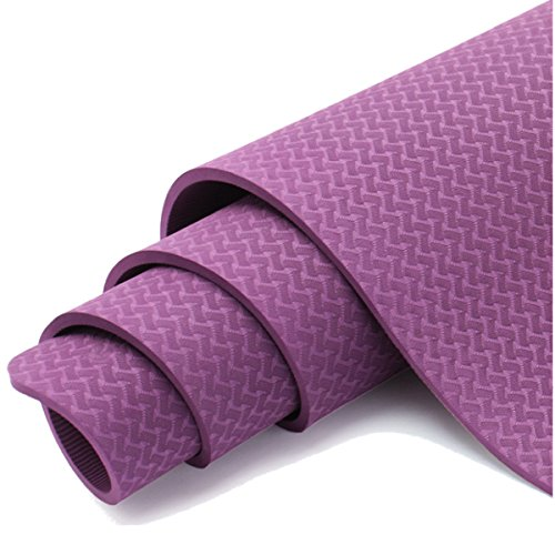 Bluelover 6Mm TPE Yoga Mat Antideslizante Medio Ambiente ...