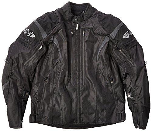 Joe Rocket Atomic Mens 5 0 Textile Motorcycle Jacket  Black  Large