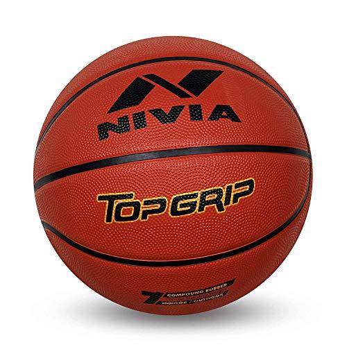 Generic Nivia Top Grip Basketball Size 7, Red