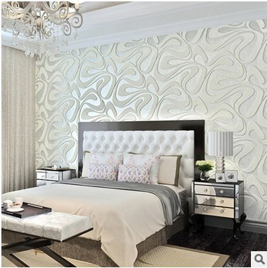 Reyqing Modern Minimalist Suede Wallpaper 3d Thick Non Woven