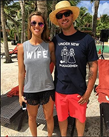Crazy Dog Tshirts Mens Under New Management Funny Wedding Bachelor Party Novelty tee For Guys Camiseta Divertidas