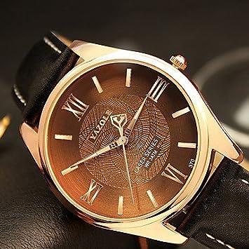 Relojes Hermosos, YAZOLE Hombre Reloj de Pulsera Reloj de Moda Cuarzo / Reloj Casual PU