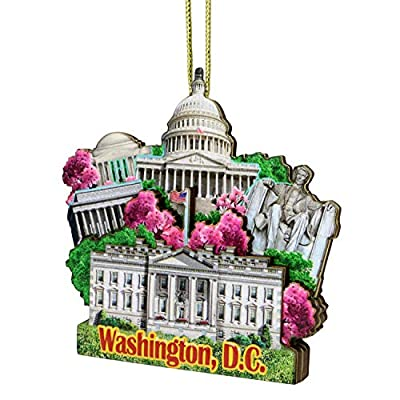 City-Souvenirs 3D Washington DC Christmas Ornament
