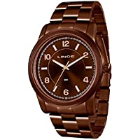 10e4d3906d3 Relógio Feminino Lince Lrbj066l n2nx Marrom Chocolate