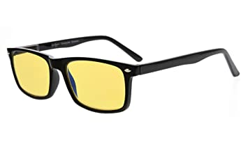 6971938a73a Eyekepper Mens Anti-Glare Computer Eye Strain Glasses for Screen Reading