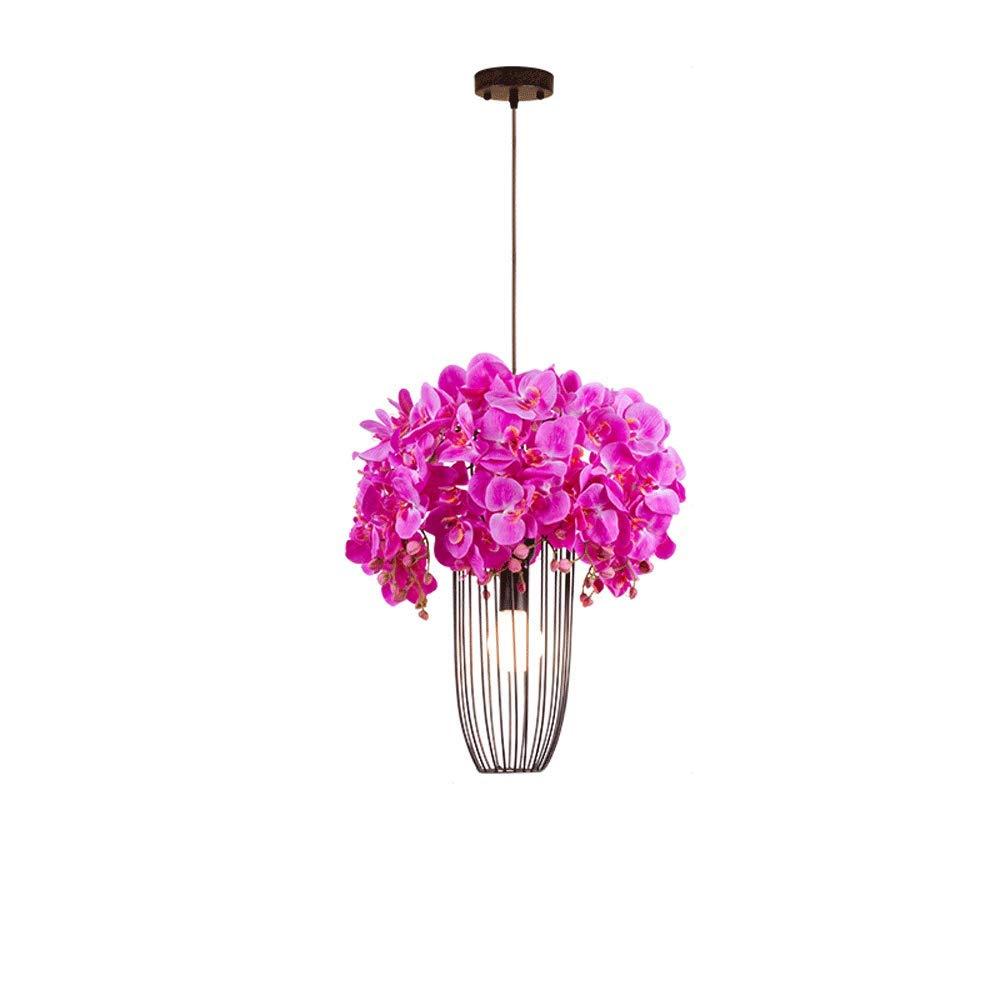 Vinteen Klar Bar Deckenleuchte Cafe Dekoration Nordic Pendelleuchte Leuchte Amerikanischen Ländlichen Kronleuchter Gang Schlafzimmer Wohnzimmer Kreative Persönlichkeit Kirschblüten Hängelampe