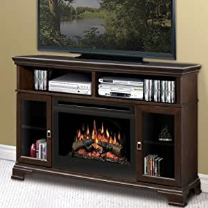 Dimplex Windham Mocha Electric Fireplace Media Console - DX234-2