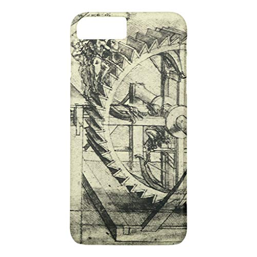Zazzle Treadmill Powered Crossbow by Leonardo Da Vinci iPhone 8 Plus/7 Plus Case Case-Mate Barely There iPhone 8 Plus/7 Plus Case