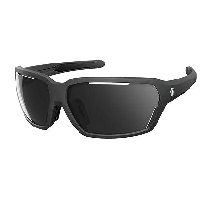 Scott Vector bicicleta gafas Negro/Gris: Amazon.es: Deportes ...