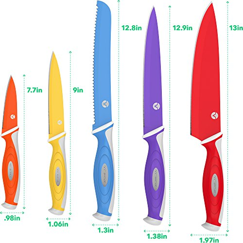 Colorful Kitchen Knife Sets
