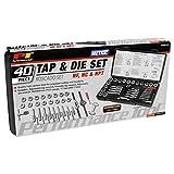 Performance Tool W4002DB 40-Piece Metric Tap And Die Set