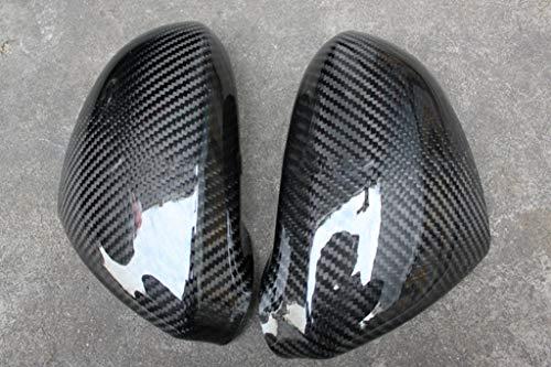 Eppar New Carbon Fiber Mirror Cover Stickers for Honda S2000 1999-2009 (2PCS)