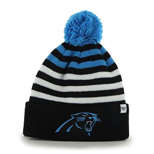 Carolina Panthers Youth Pom Beanie – Football Theme Hats ea03d3eb827
