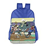 Fairly OddParents Children School Backpack RoyalBlue
