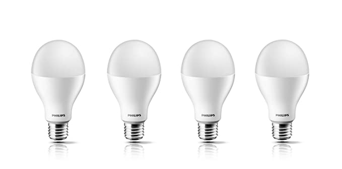 Philips Base E27 14 Watt Led Bulb Cool Day Light Pack Of 4