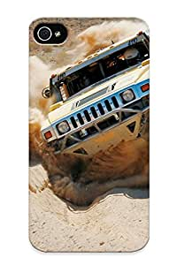 Cute Tpu AbKaa0jypPZ Deserts Vehicles Hummer Case Cover Design For Iphone 4/4s