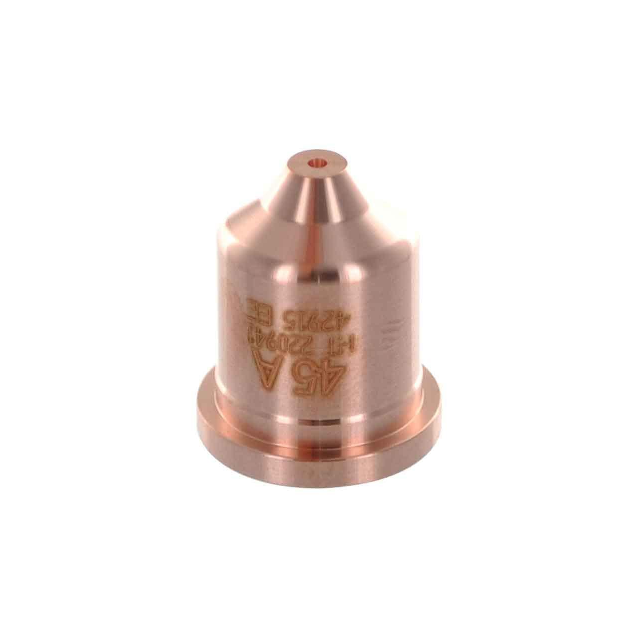 5 pcs 220941 Nozzles 65 85 fits Hypertherm 45 AMP