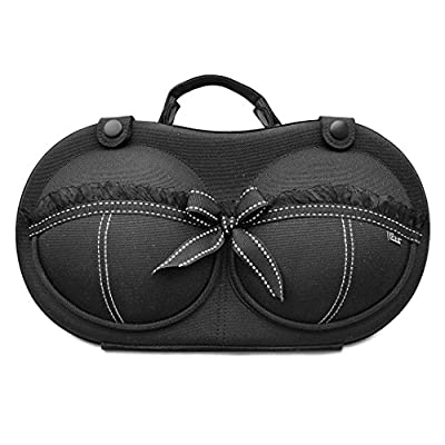 Bra Travel Case by The Brag Co - Original Patented Bra Bag for Travel, Size 32A - 36C