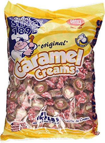 - Goetze's Vanilla Carmel Cream 4lbs