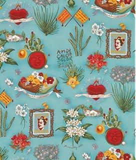 Alexander Henry VIVA FRIDA Mexican Folklorico Frida Kahlo Fabric Parchment