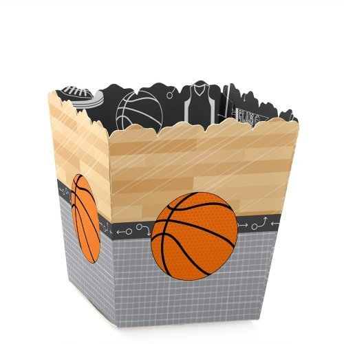 Nothin' But Net - Basketball - Candy Boxes Baby Shower or Birthday Party Favors (Set of 12)