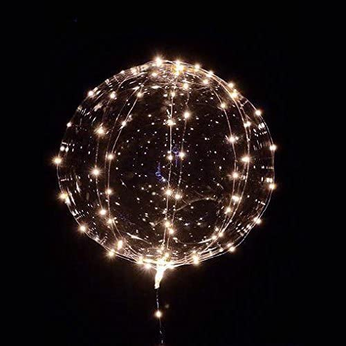 Round LED Fish Bowls Balloon Lights for Wedding Party Decoration Celebrations
