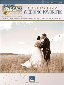 Book Country Wedding Favorites - Wedding Essentials Series (Bk/Cd)