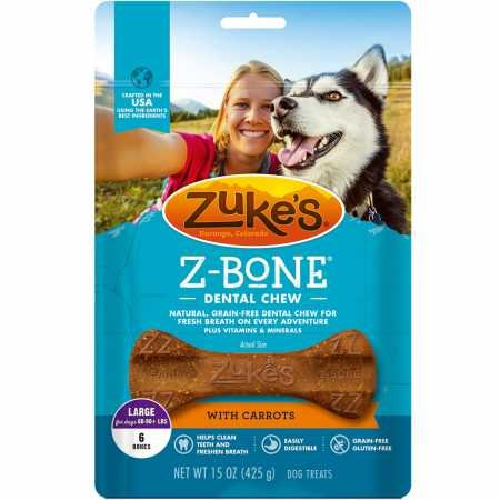 Zuke`S Z-Bone Large Carrot 6 Count