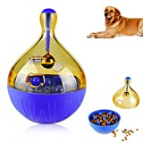 ONSON Interactive Dog Toy - Dogs & Cats Increases IQ and Mental Stimulation Pets Treat-dispensing Ball - Squeaky Ball Dog Toy for Small/Medium/Large Dogs