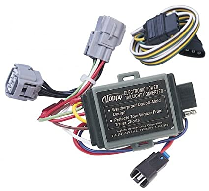 amazon com: 1995-1998 jeep grand cherokee trailer wiring kit (w/ tow pkg):  garden & outdoor