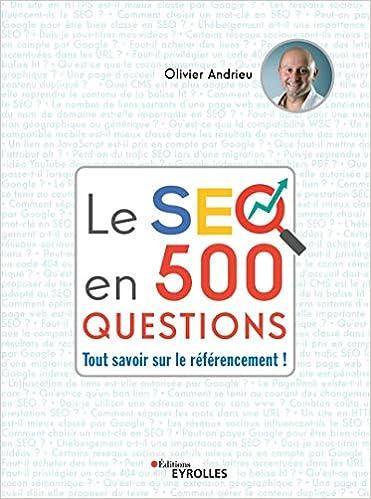 Livre Le SEO en 500 questions