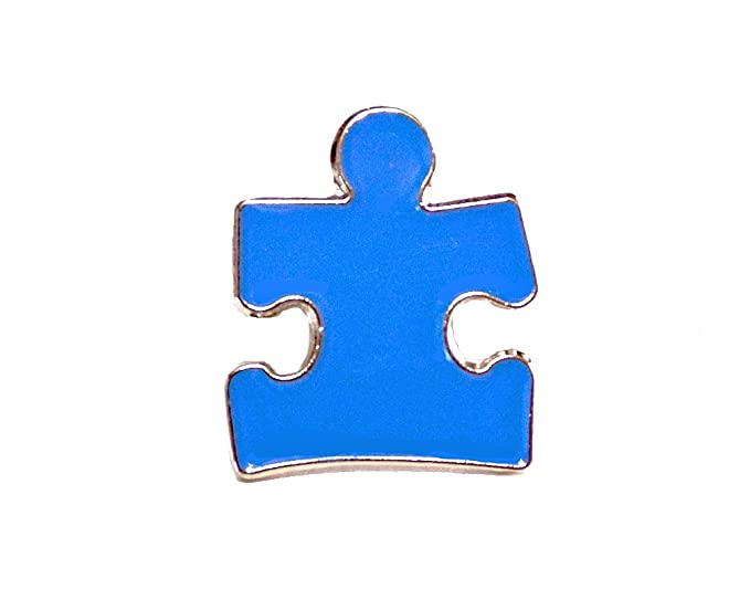 Amazon Autism Awareness Puzzle Piece Blue Lapel Hat Pins Raise