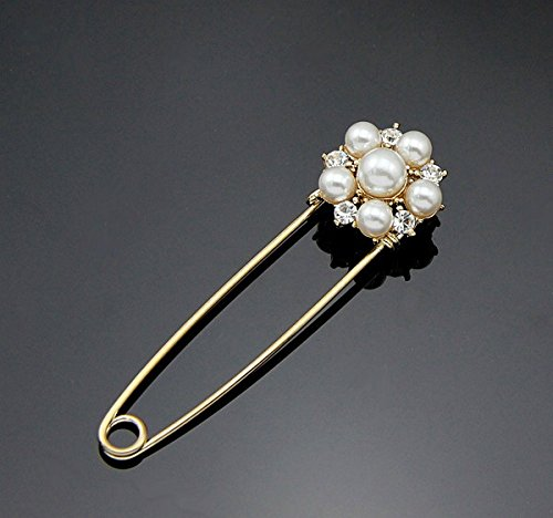 New Design cute Jewelry Women Lady Gold Plated flower Brooch Fashion Bridal Crystal Brooches Pins