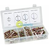 Dapetz  50Pc Lynch Pin (Linchpin) Locking Pin Clip Assortment Set For Trailers by Dapetz