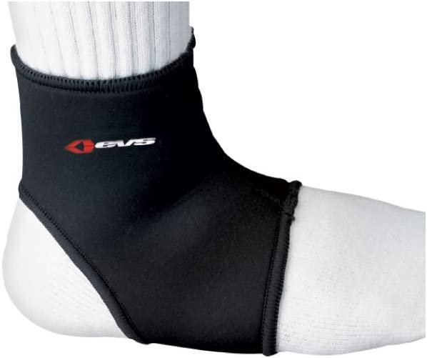 EVS AB06 Adult Off-Road Motorcycle Ankle Brace Black//Large