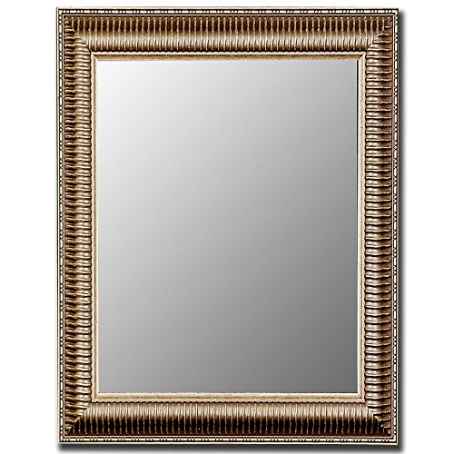 Hitchcock Butterfield 320702 Antique Silver Framed Wall Mirror, 29