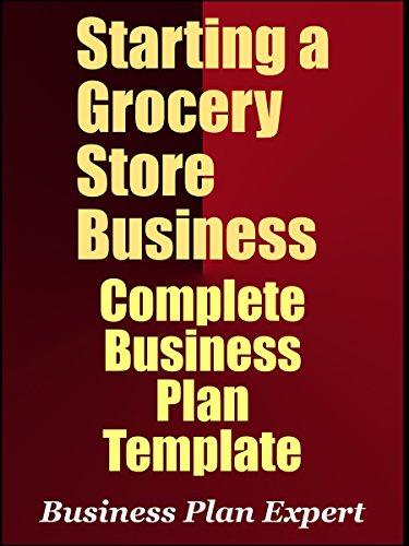 Amazon com: Starting A Grocery Store Business: Complete Business