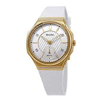 44066df6a Image Unavailable. Image not available for. Color: Ladies' Bulova Curv ...