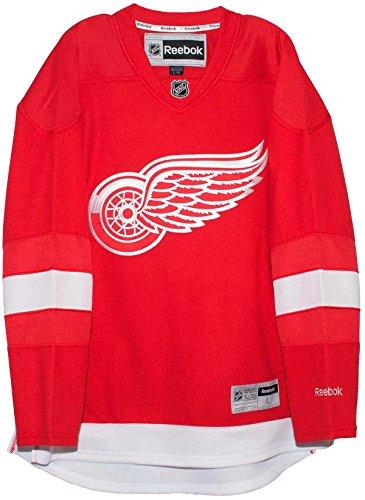 Reebok Detroit Red Wings Blank - Detroit Red Wings Home Reebok Premier Men's Replica Jersey (Small)