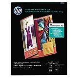 HP Tri-Fold Brochure Paper, Matte (100 Sheets, 8.5 x 11 Inches)