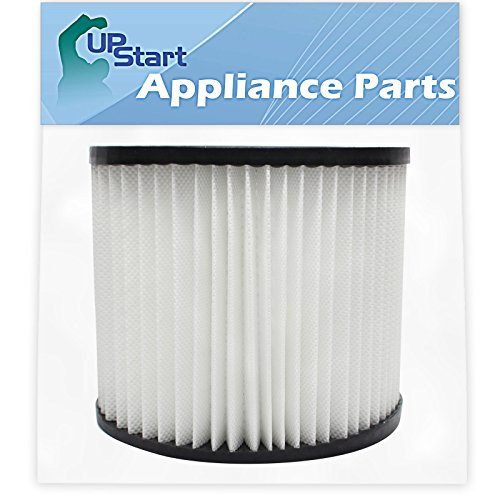 Replacement 9039800 Filter 903-98-00 for Shop-Vac - Compatible with Shop-Vac H87S550A, Shop-Vac 90398, Shop-Vac 587-24-62, Shop-Vac E87S450, Shop-Vac 587-04-00, Shop-Vac 286-00-10, Shop-Vac 962-15-00, Shop-Vac 394-20-00, Shop-Vac Wall-Mount 394-20-00, Shop-Vac SP650C, Shop-Vac Back Pack SP650C (Best Wall Mount Shop Vac)