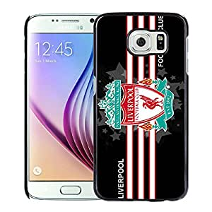 Unique Custom Designed Cover Case For Samsung Galaxy S6 With Liverpool Black Phone Case