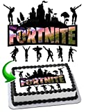 Fortnite Battle Royale Edible Cake Image Cake Topper Icing Sugar Paper A4 Sheet Edible Frosting Photo 1/4 Sheet Cake